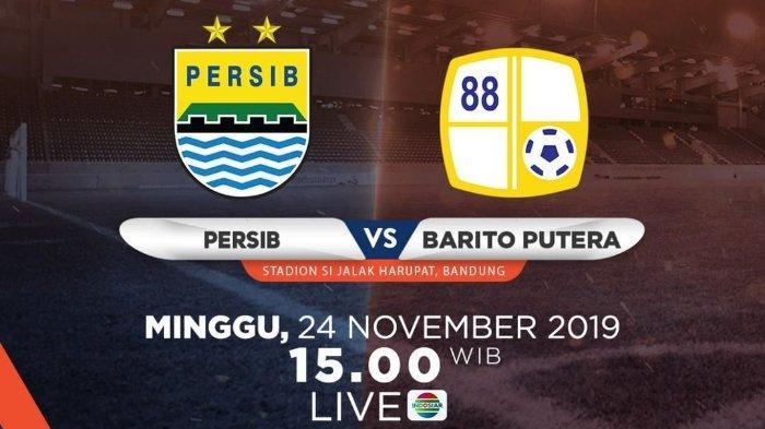 Acara TV Hari Ini Minggu 24 November 2019, Persib vs Barito Putera, Take Me Out Indonesia di GTV