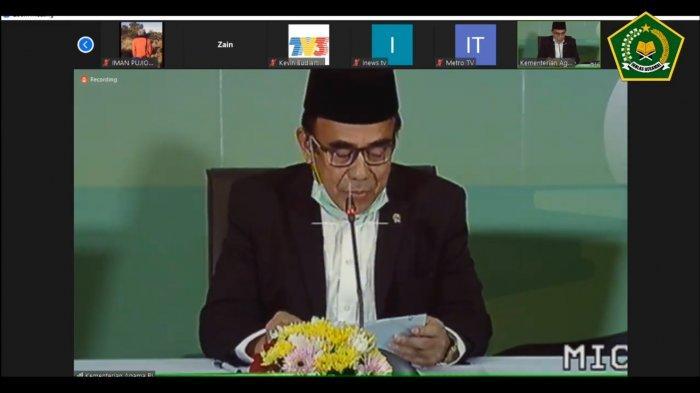 BREAKING NEWS Hasil Sidang Isbat Tetapkan Idul Fitri 1441 H Jatuh pada Minggu 24 Mei 2020