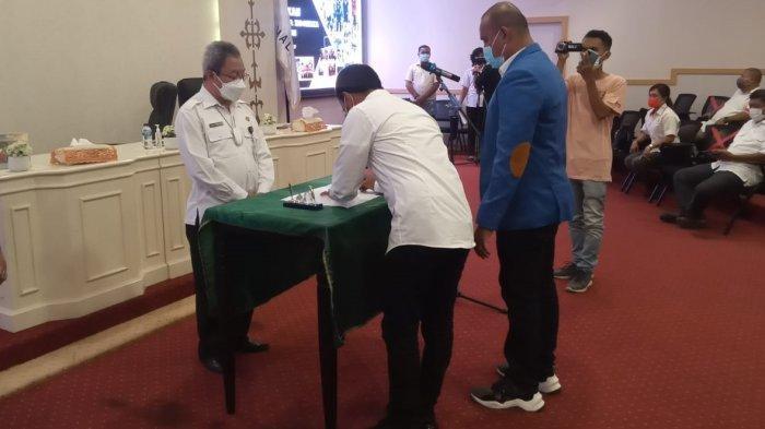 Dilantik Jadi Ketua ISSI Ambon, Silooy Fokus Pembibitan Atlet