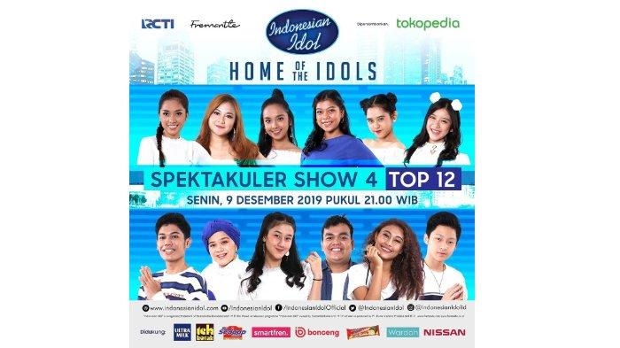 Cara Vote Kontestan Indonesian Idol 2019, Dukung Idolamu di Spektakuler Show 4 Malam Ini
