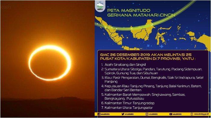 Gerhana Matahari Cincin Hari Ini, Simak Jadwal di 25 Wilayah yang Bisa Menyaksikan Secara Langsung!