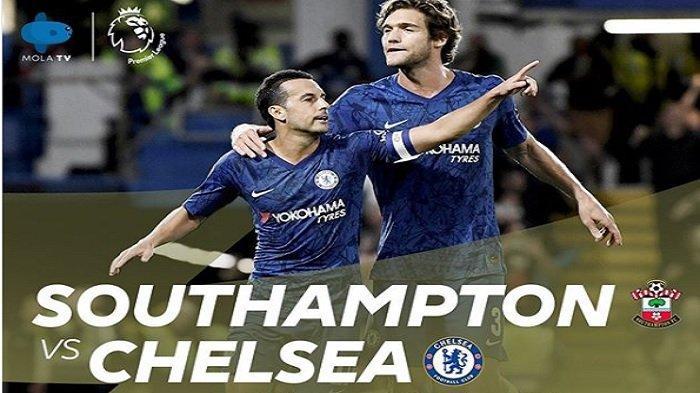 Jadwal Liga Inggris Pekan 8 Live TVRI & Mola TV, Southampton vs Chelsea, Liverpool vs Leicester