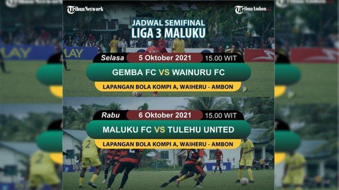 Laga Semifinal Liga 3 Maluku Resmi Ditunda untuk Kepentingan Penyidikan