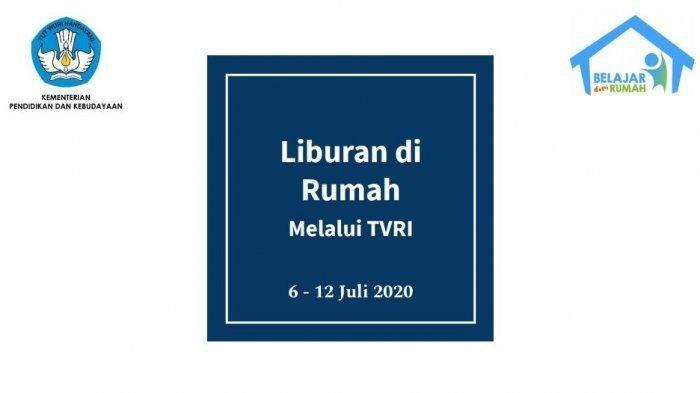 Jadwal Belajar dari Rumah TVRI Kamis, 9 Juli 2020: Kidi & Widi Aku Anak Tangguh pada Pukul 08.00 WIB
