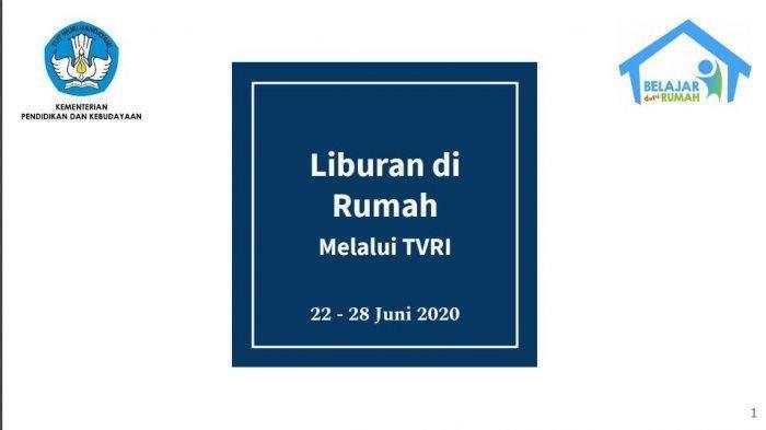 Jadwal TVRI Belajar dari Rumah Sabtu 27 Juni 2020, Tayang Anak Seribu Pulau: Merauke