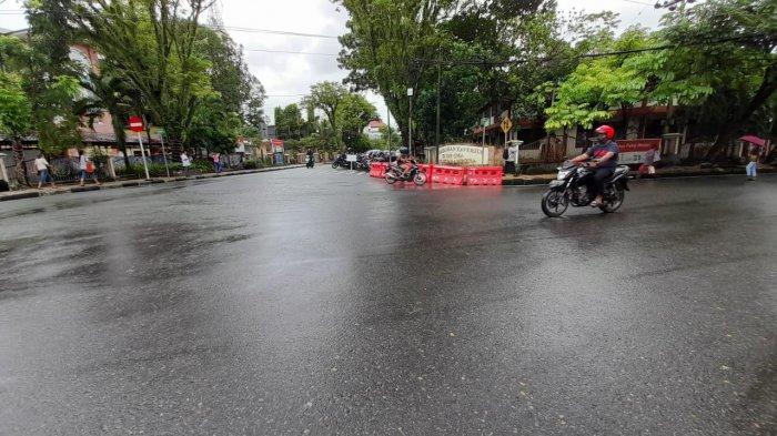 Lima Bulan Ditutup Satlantas, Akhirnya Dishub Buka Ruas Jalan Rijali Jadi Dua Arah
