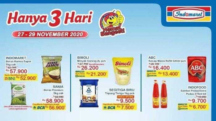 HARI TERAKHIR Promo JSM Indomaret 27-29 November 2020, Nikmati Potongan Harga di Akhir Pekan!