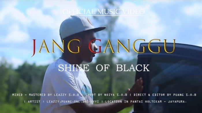 Chord Lagu Jang Ganggu - Shine Of Black, Kunci Gitar Mulai dari F: Boh Sayang, Ko Itu Sa Punya