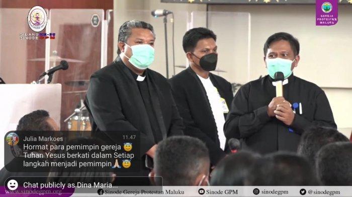 Pdt Elifas T Maspaitella Saya Berjanji Melayani Gereja Protestan Maluku dengan Sepenuh Hati
