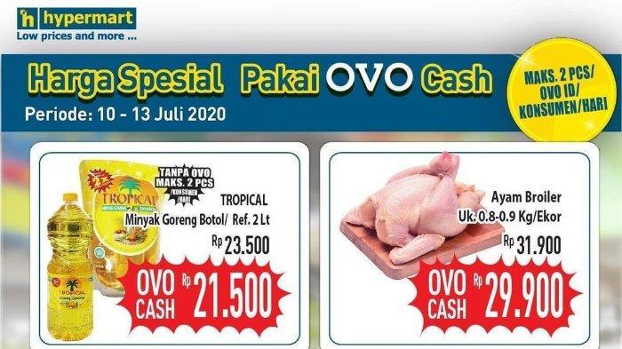 Katalog Promo JSM Hypermart Harga Spesial Pakai OVO Cash Berlaku 10-13 Juli 2020