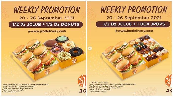 Promo J.CO: Pembelian JCO Donuts Minggu Ini Lebih Hemat, Berlaku hingga 26 September 2021