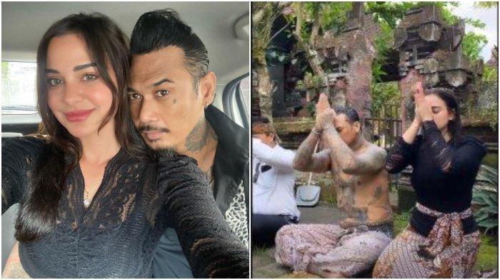 Jerinx SID Bebas dari Penjara, Bersama Nora Alexandra Jalani Upacara Melukat atau Pembersihan Diri