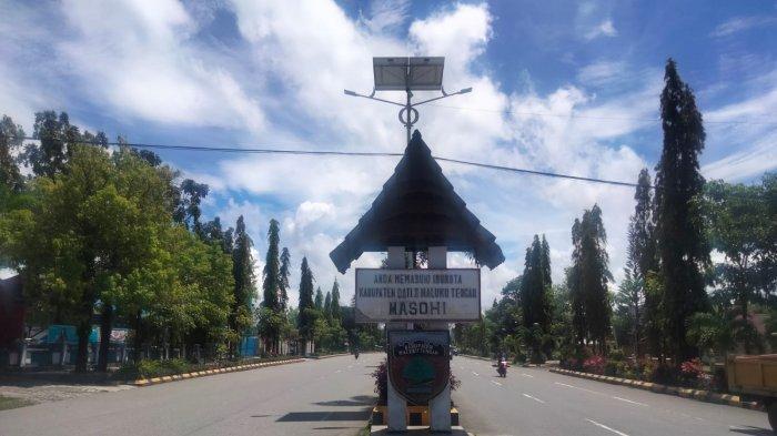 Jln Abdullah Soulissa, Kota Masohi Bakal Jadi Kawasan Tertib Lalu Lintas