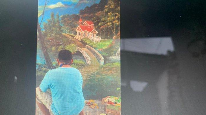 John Yesayas dan lukisannya (2021)