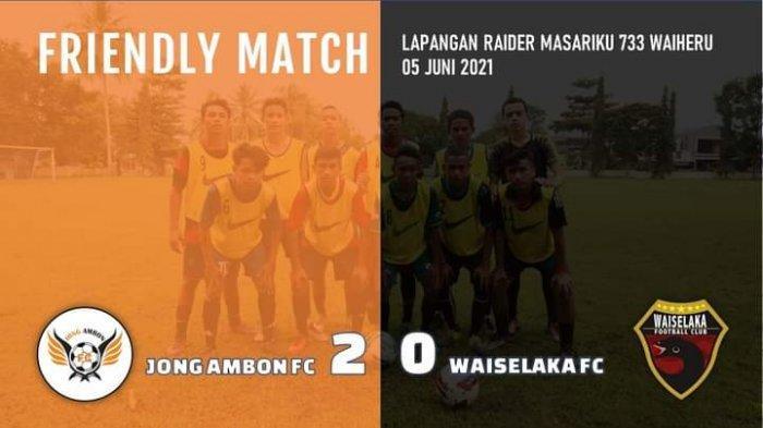 Laga Eksebisi dalam Sebulan, Jong Ambon FC Tak Terkalahkan