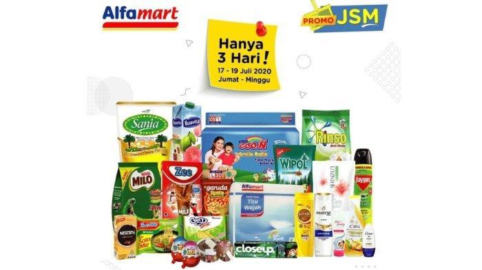 Katalog Promo JSM Alfamart 17-19 Juli 2020, Diskon Lebih Besar dengan GoPay dan ShopeePay