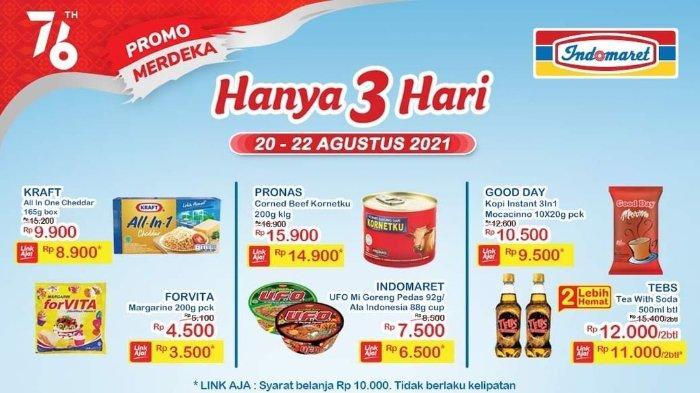 Katalog Promo JSM Indomaret 20-22 Agustus 2021: Margarin Forvita 200gr hanya Rp 3.500