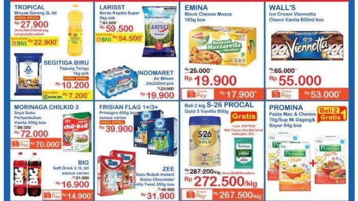 Katalog Promo JSM Indomaret 16-20 Juli 2021: Minyak Goreng Tropical 1 Liter hanya Rp 22.900