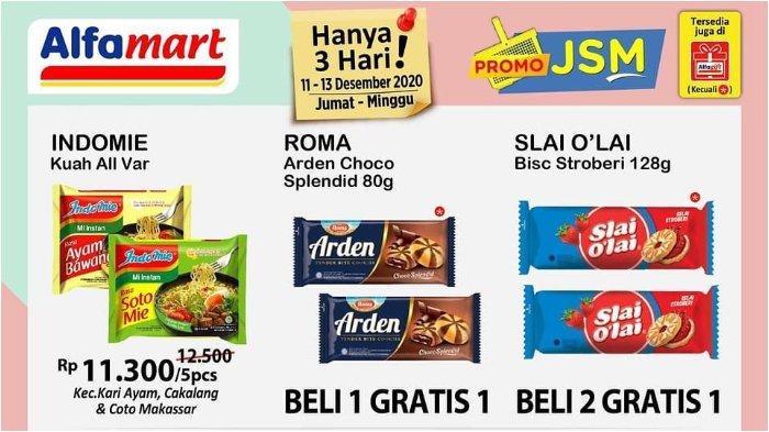 Promo JSM Alfamart 11-13 Desember 2020, Nikmati Berbagai Diskon di Akhir Pekan!