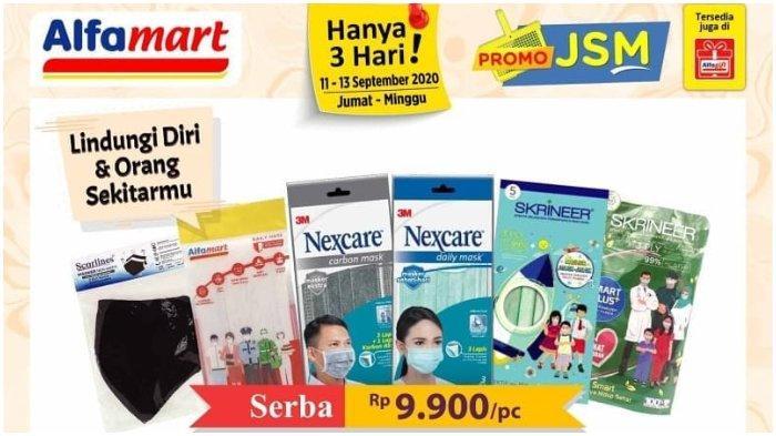 Promo JSM Alfamart Hanya 3 Hari 11-13 September 2020, Bayar Pakai Gopay Makin Murah!