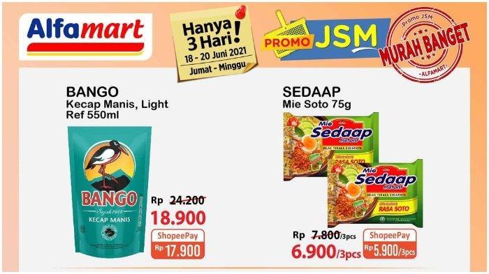 Promo JSM Alfamart 18 - 20 Juni 2021: Makin Murah dengan Gopay, Simak Syarat dak Ketentuannya