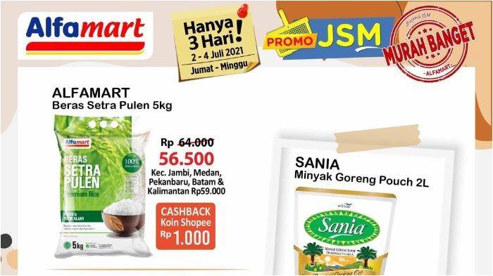 Katalog Promo JSM Alfamart 2-4 Juli 2021: Dapatkan Cashback bayar Pakai ShopeePay