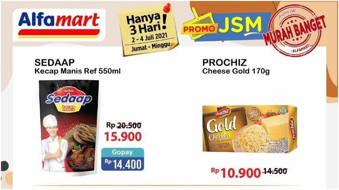 Promo JSM Alfamart 2-4 Juli 2021, Kecap Sedap Refill 550 Gram Hanya Rp 14.400 Bayar Pakai Gopay