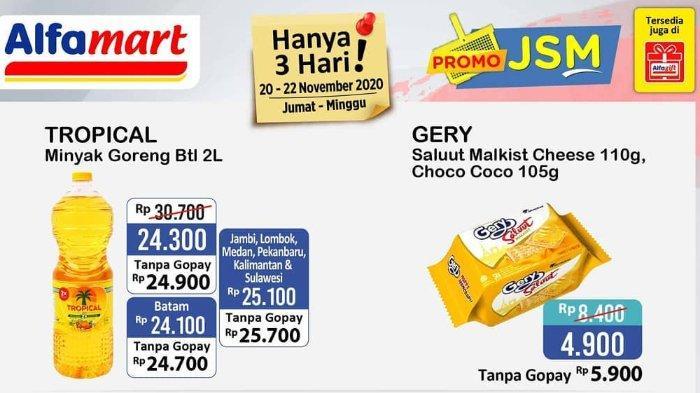 Katalog Promo JSM Alfamart 20-22 November 2020,  Bayar Pakai Gopay Makin Murah