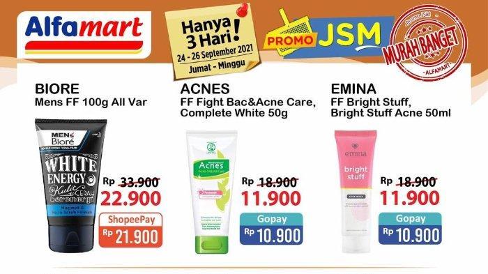 Promo JSM Alfamart 24-26 September 2021: Emina Facial Foam 50ml hanya Rp 10.900 dengan Gopay