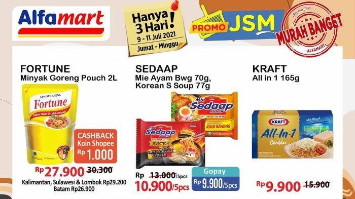 Promo JSM Alfamart 9-11 Juli 2021: Keju Kraft All in 1 165gr hanya Rp 9.900