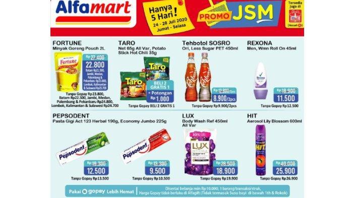 Katalog Promo JSM Alfamart Berlaku 5 Hari, 24-28 Juli 2020: Diskon hingga Promo Beli 2 Gratis 1