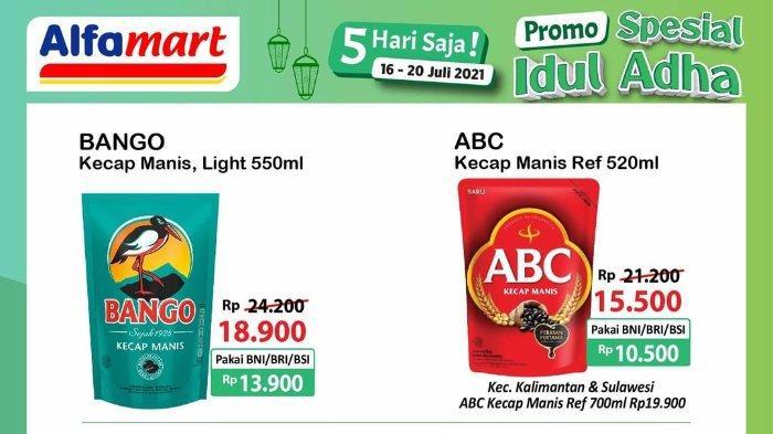 Katalog Promo JSM Alfamart Periode 16-20 Juli 2021 Spesial Idul Adha: Aneka Kecap Manis Diskon