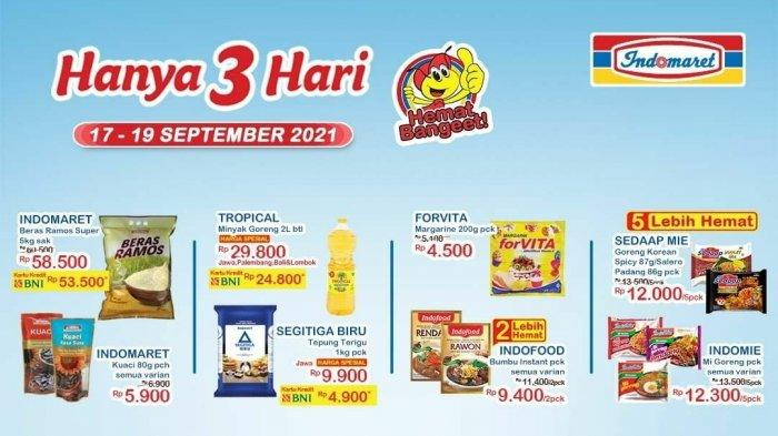 Promo JSM Indomaret 17-19 September 2021: Minyak Goreng Tropical 2L hanya Rp 24.800