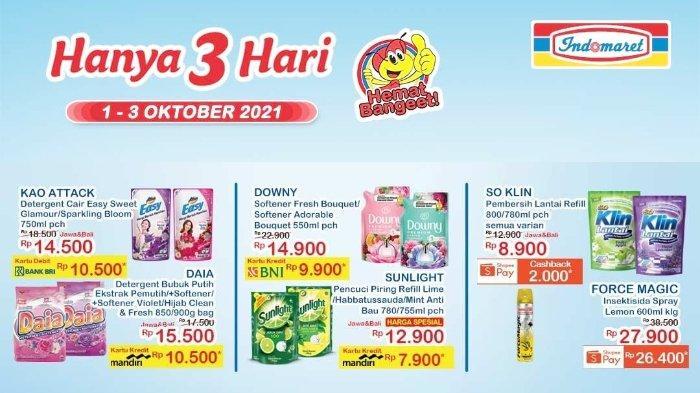 Promo JSM Indomaret 1-3 Oktober 2021: Beli So Klin Lantai 780/800 ml Cashback 2.000 dengan Shopeepay