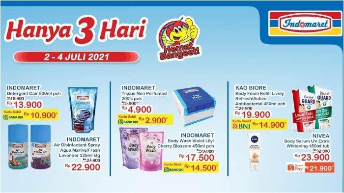 Katalog Promo JSM Indomaret 2-4 Juli 2021: Nivea Body Serum UV hanya Rp 21.900 dengan ShopeePay