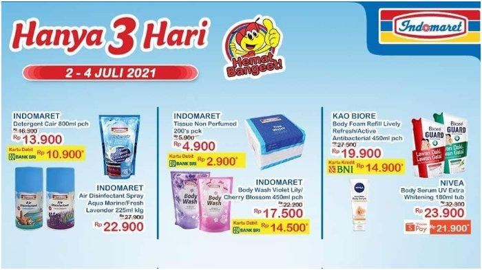Promo JSM Indomaret 2-4 Juli 2021: Tissue 200's pck Hanya Rp 2.900 dengan Debit BNI