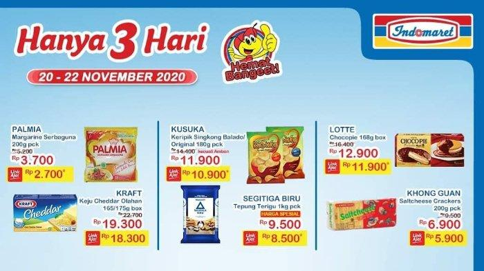 Promo JSM Indomaret 20-22 November 2020, Makin Murah dengan LinkAja