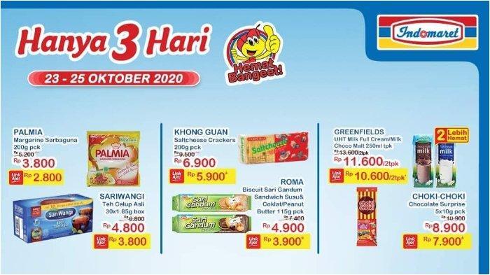 Promo JSM Indomaret 23-25 Oktober 2020, Palmia Margarine 200g Rp 2.500 dengan LinkAja