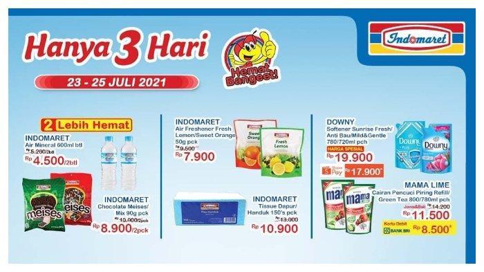 HARI TERAKHIR! Promo JSM Indomaret 23-25 Juli 2021, Downy Softener 720ml hanya Rp 17.900