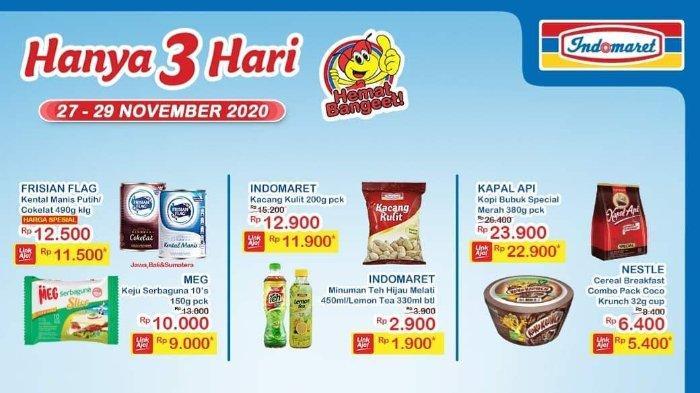 Promo JSM Indomaret 27-29 November 2020, Nikmati Potongan Harga di Akhir Pekan!