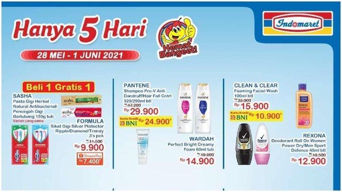 Promo JSM Indomaret Berlaku 5 Hari, 28 Mei hingga 1 Juni 2021, Makin Hemat dengan ShopeePay