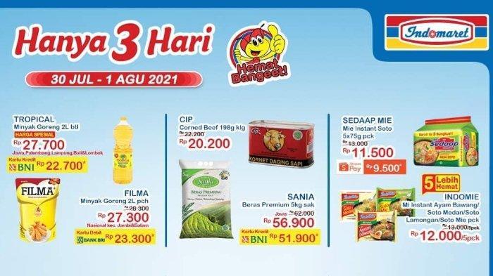 Promo JSM Indomaret 30 Juli-1 Agustus 2021: Sedaap Mie instant Soto 5 Pck Rp 9.500 dengan ShopeePay