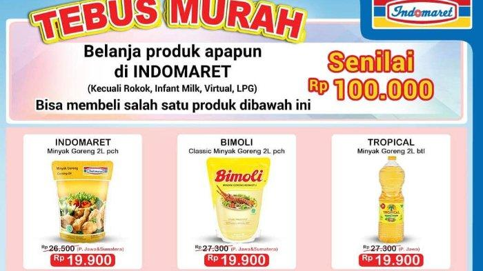 Katalog Promo JSM Indomaret 9-11 Oktober 2020, Tebus Murah Produk Minyak Goreng dan Detergen!
