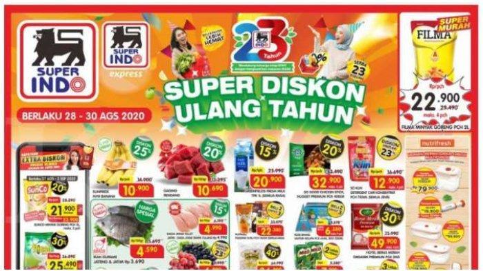 Katalog Promo JSM Superindo Periode 28-30 Agustus 2020, Banyak Diskon di Akhir Pekan!