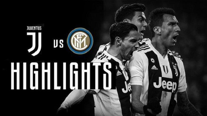 Live Streaming Juventus vs Inter Milan International Champions Cup 2019 Rabu Malam, Tonton di HP