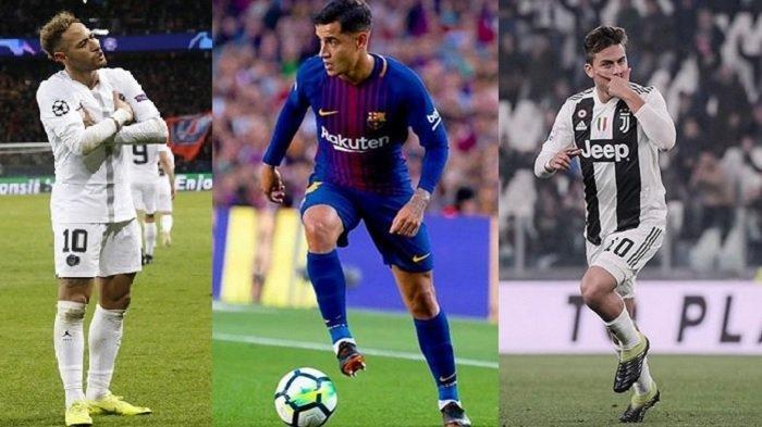 Bursa Transfer Pemain: Neymar, Coutinho, Dybala Ramaikan Liga Inggris?