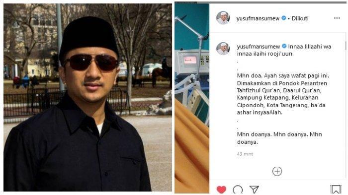 Kabar Duka, Ayahanda Ustaz Yusuf Mansur Meninggal Dunia