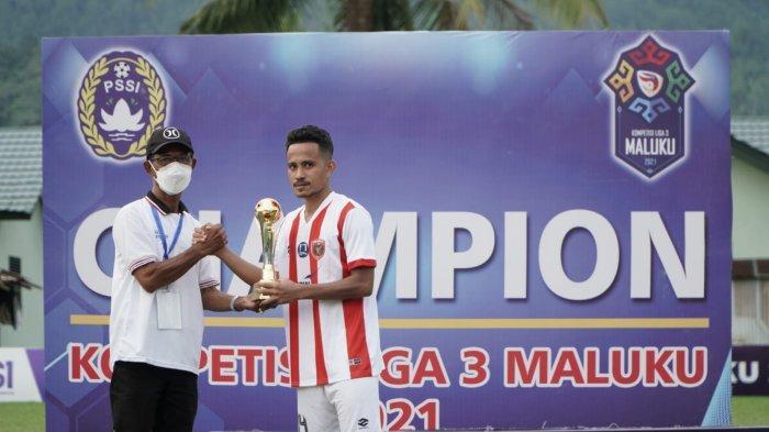 Begini Urutan Pembagian Tropi Liga 3 Maluku 2021, Ada Top Skor dan Pemain Terbaik