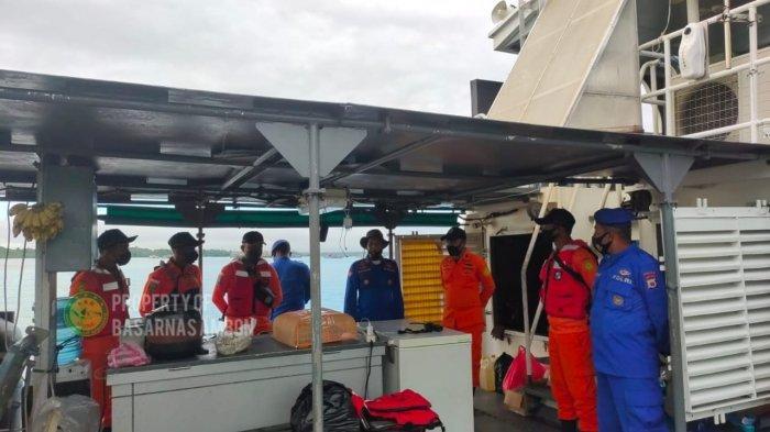 Kapal Berpenumpang 100 orang Mati Mesin di Perairan Tabarfane, Kepulauan Aru - Maluku