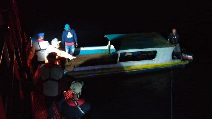 Kurang dari 2 Jam Kapal Hilang di Maluku Tenggara Ditemukan, 7 Penumpang Selamat